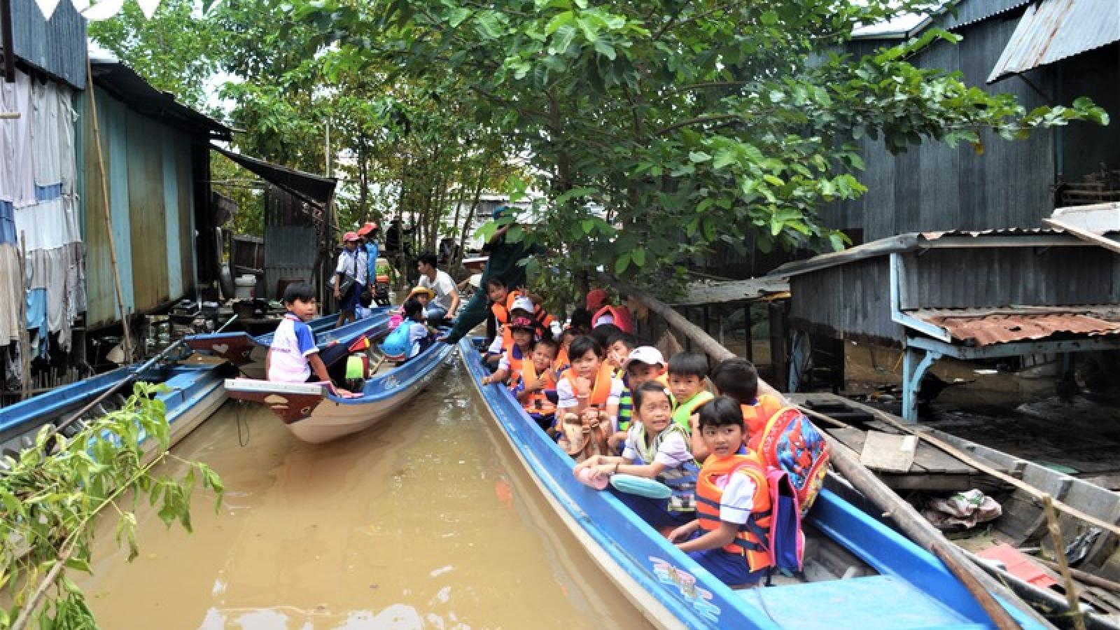 An Giang lên kế hoạch đón hơn 1.000 học sinh từ Campuchia về nhập học