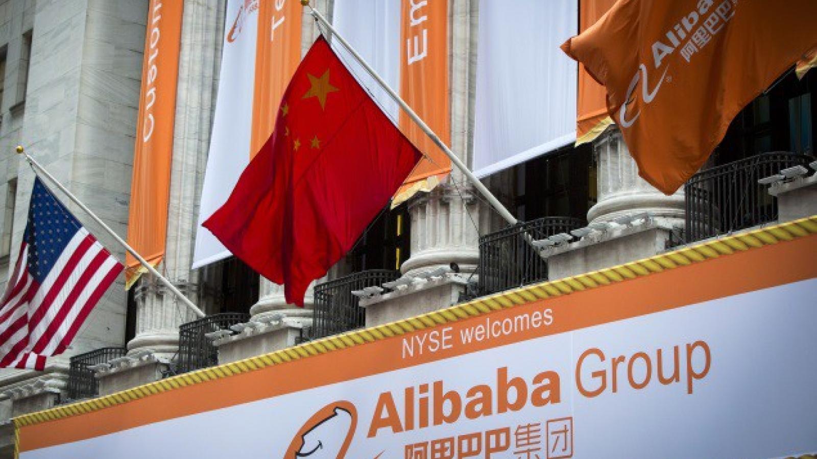"""Mỹ đưa """"gã khổng lồ"""" Alibaba vào tầm ngắm"""