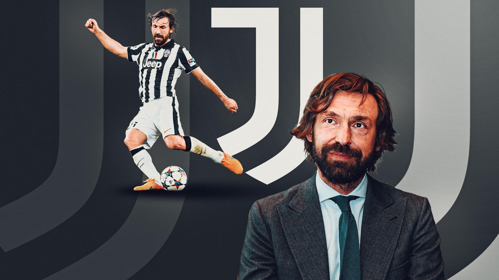 CHÍNH THỨC: Andrea Pirlo trở thành huấn luyện viên của Juventus