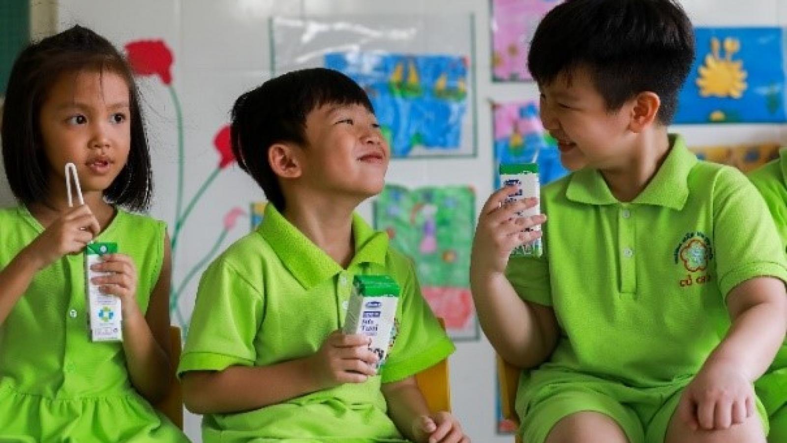 Sữa học đường sẵn sàng các phương án ngày tựu trường năm học 2020-2021