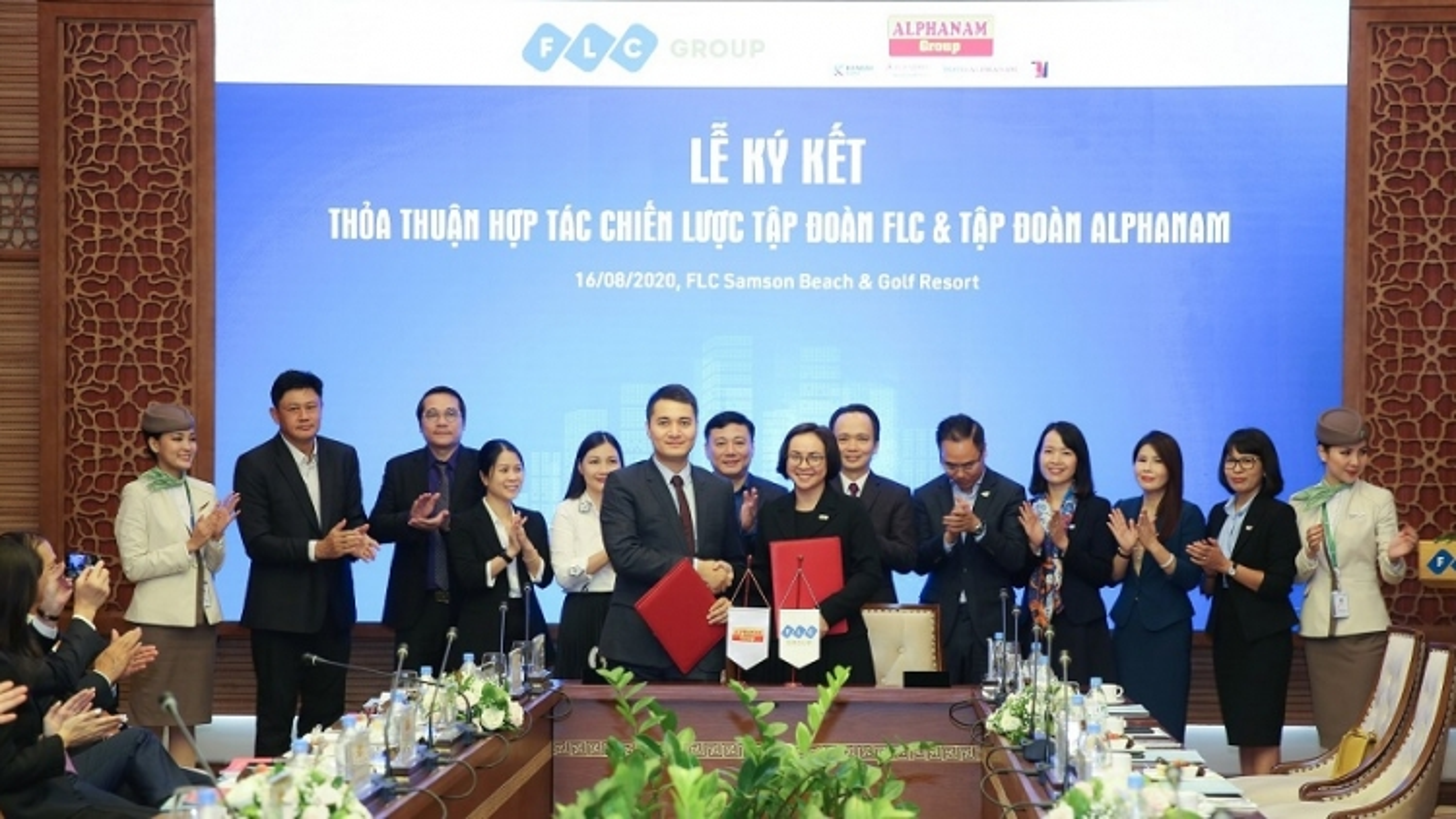 FLC bắt tay Alphanam: Liên minh mới của những doanh nhân Sao Đỏ