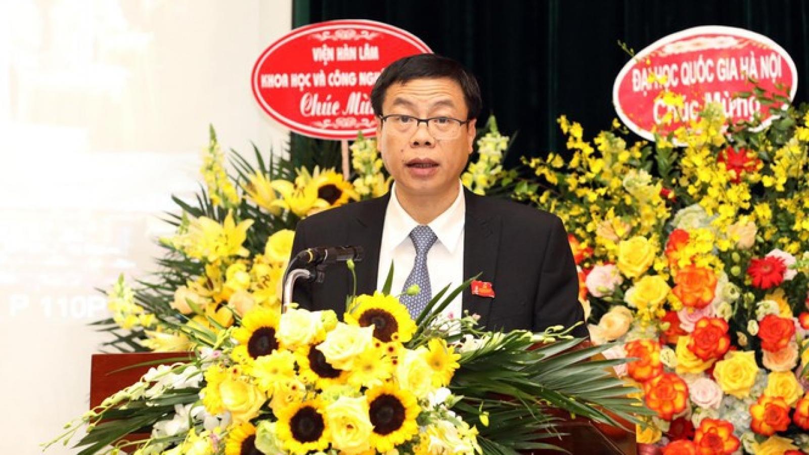 Ông Lê Xuân Định được bầu là Bí thư Đảng ủy Bộ KH&CN