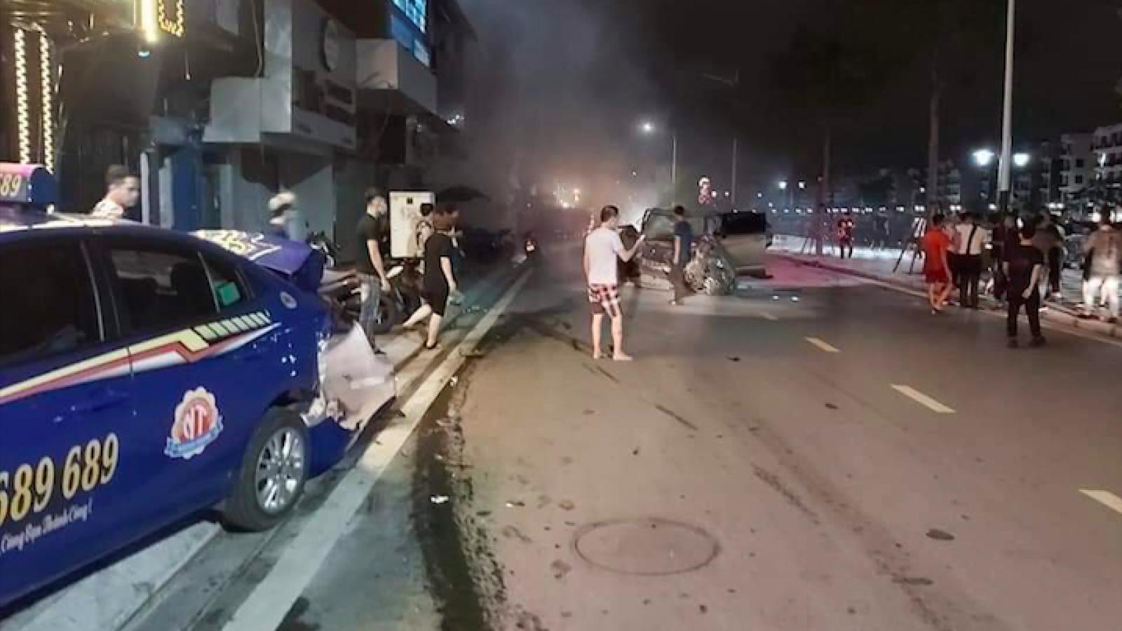 Khởi tố lái xe đâm liên hoàn trên phố đi bộ khiến 1 người tử vong tại Hải Phòng