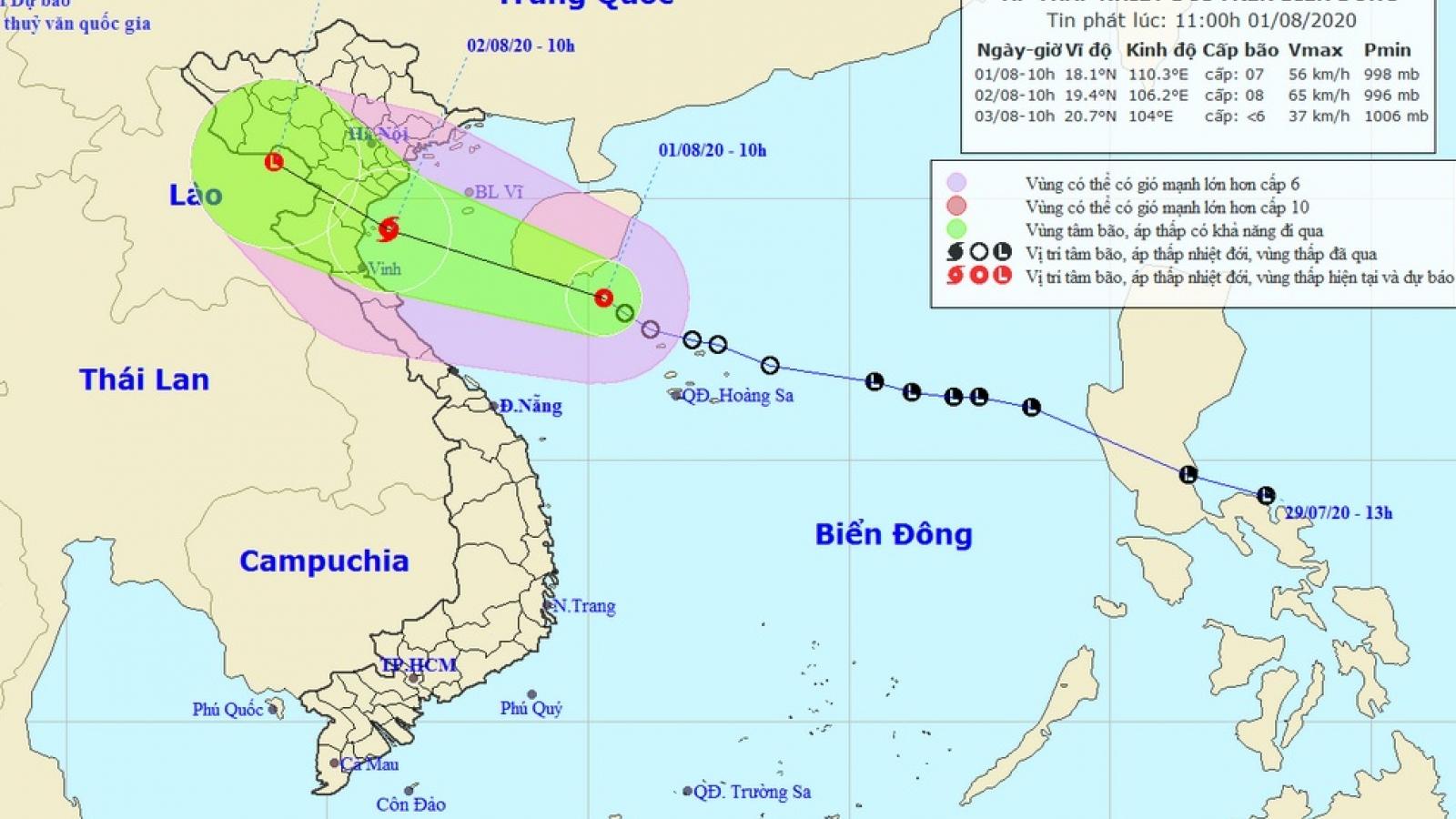 Áp thấp nhiệt đới di chuyển nhanh có thể thành bão, cảnh báo mưa lớn