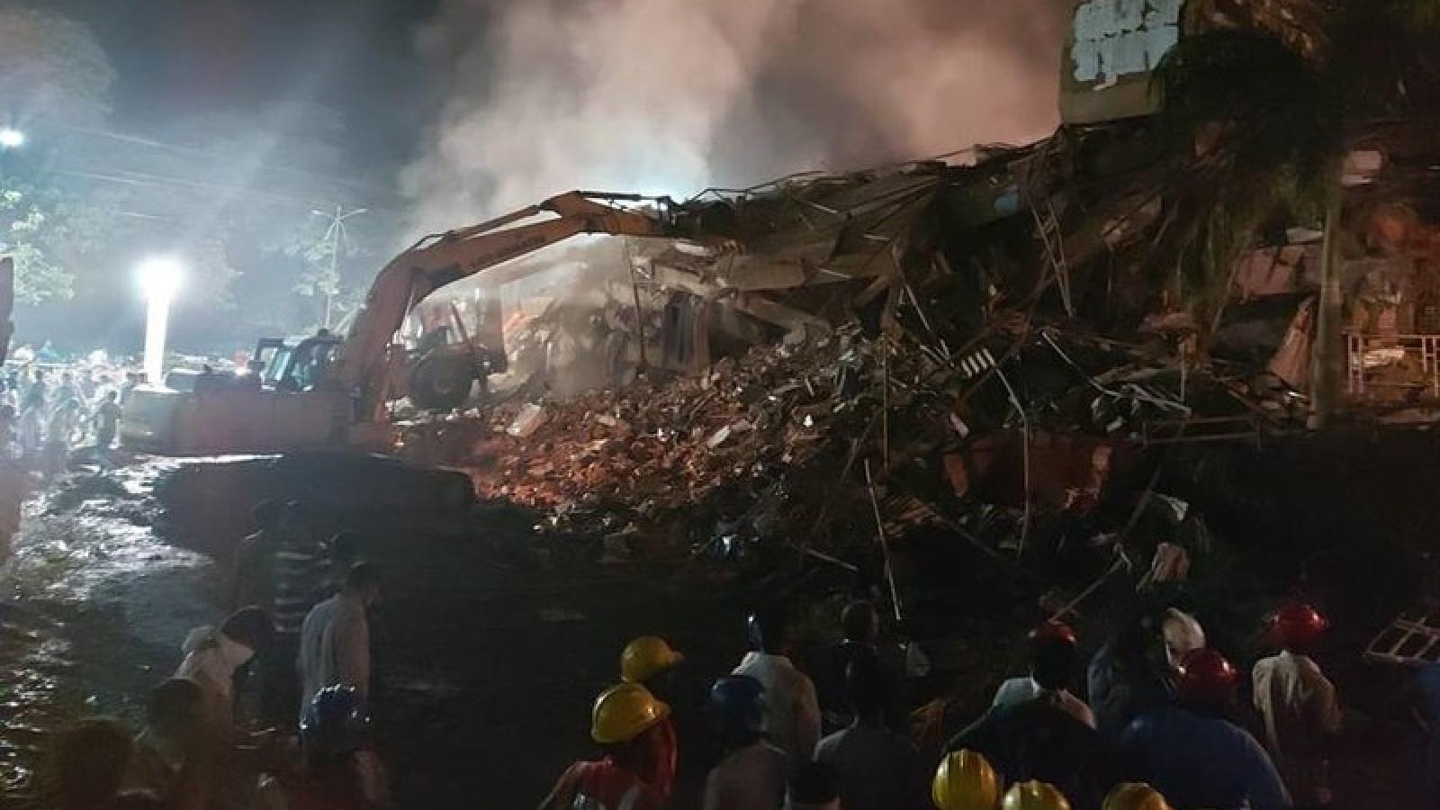 2 người chết, 18 người mất tích trong vụ sập nhà ở Ấn Độ