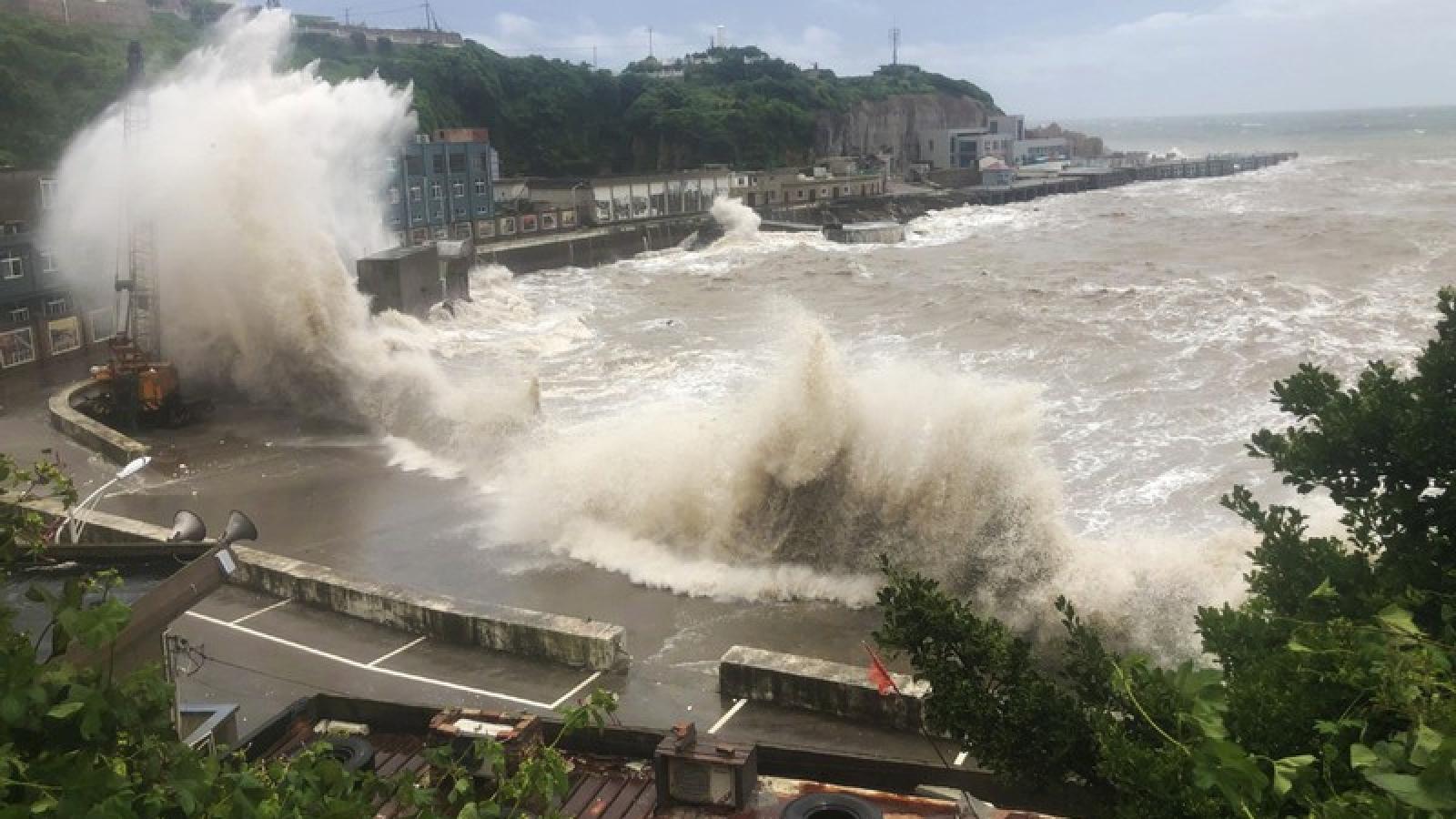 Cơ quan khí tượng Trung Quốc dự báo có 4 đến 6 trận bão trong tháng 8