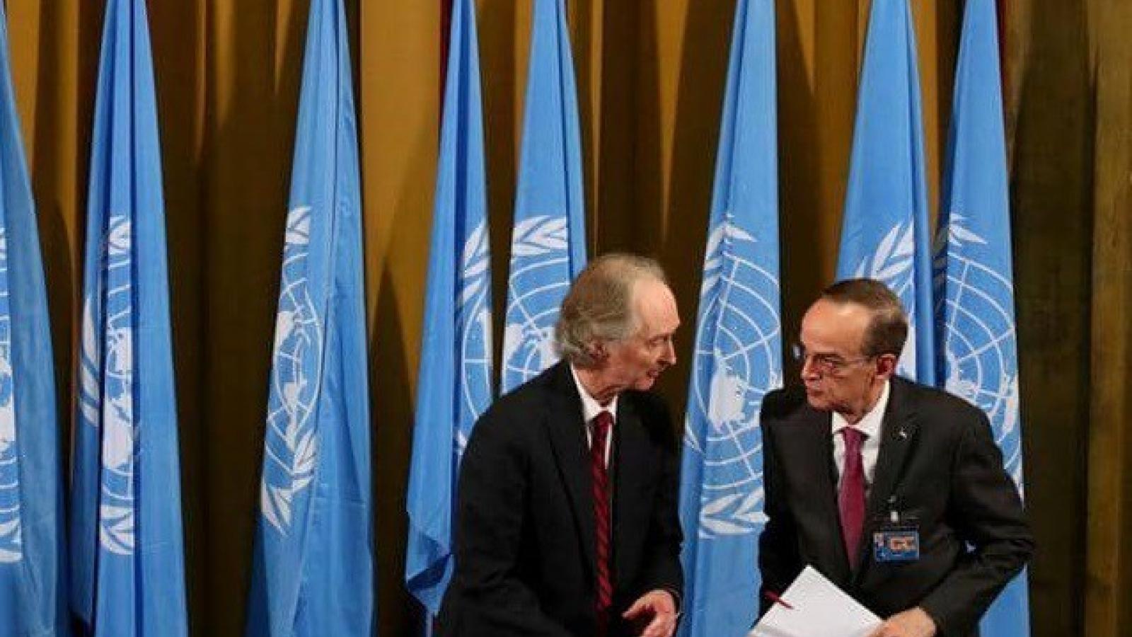 Thảo luận về Hiến pháp Syria ở Geneva không đạt được tiến triển nào