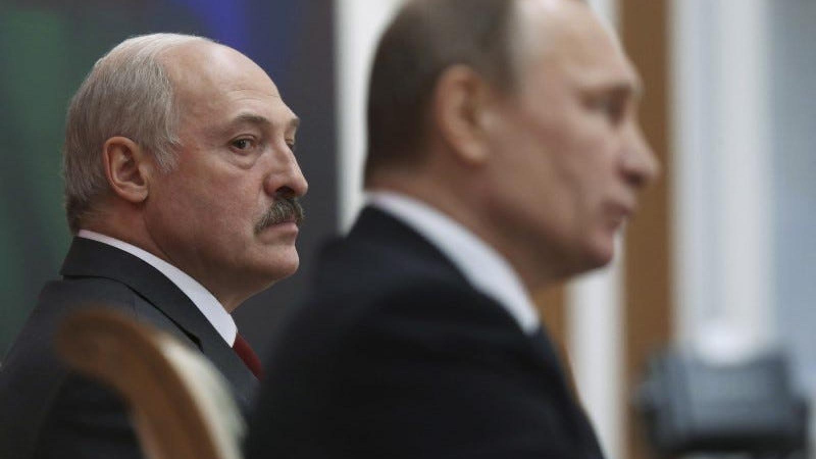 Căng thẳng Nga-Belarus: Phép thử quan hệ đồng minh trước sóng gió