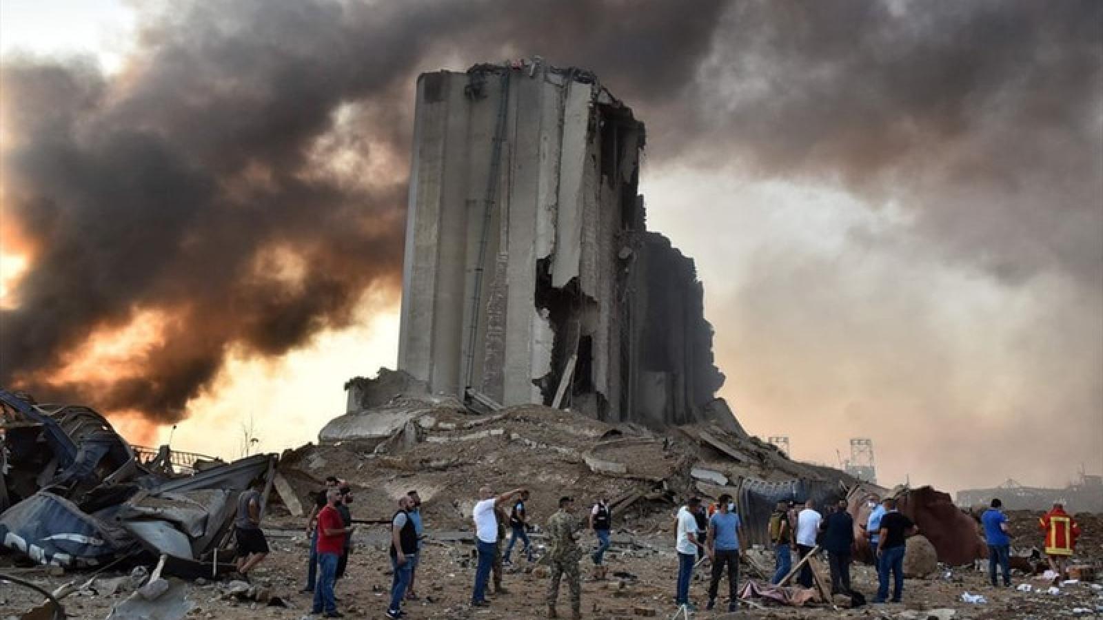 Tổng thống Lebanon: Sẽ có hình phạt nghiêm khắc sau vụ nổ ở Beirut