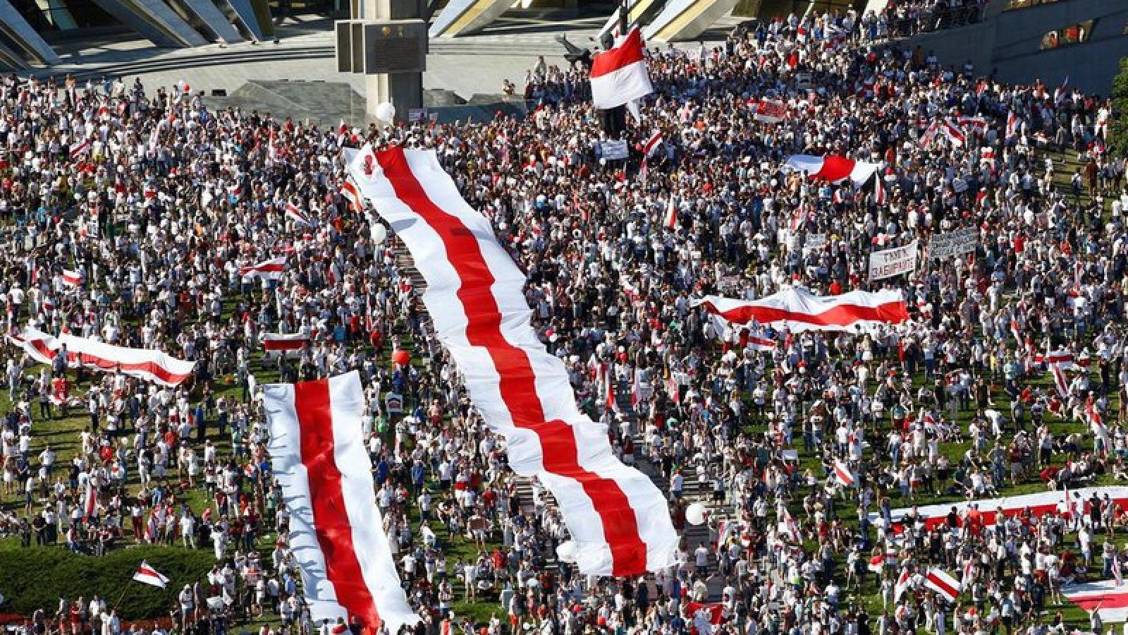 Belarus phủ nhận cáo buộc vẫn giam giữ khoảng 4.000 người biểu tình