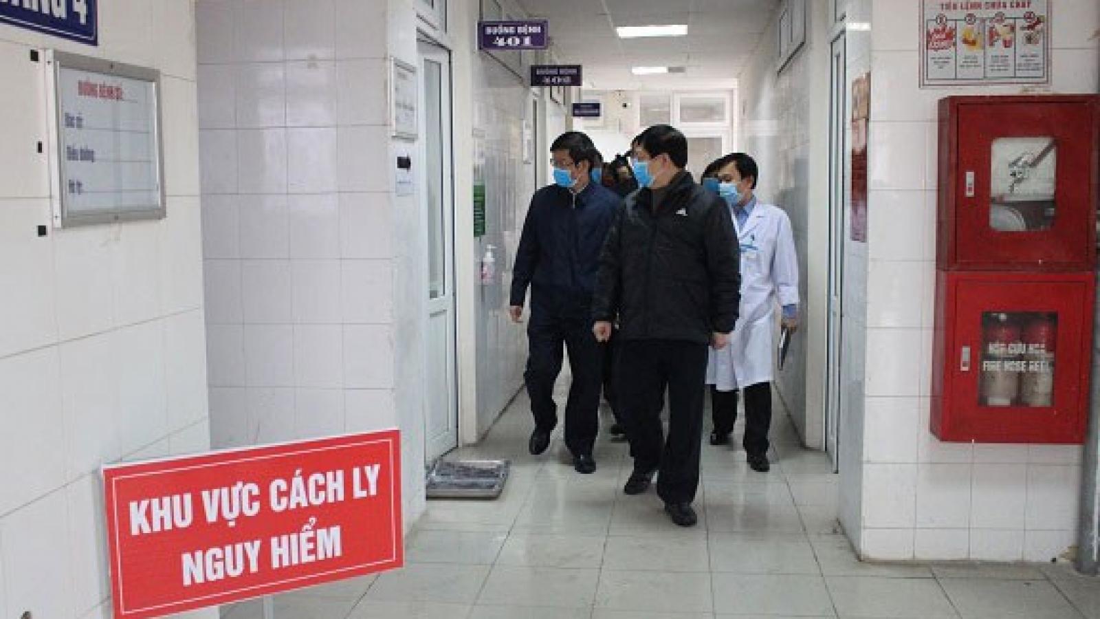 Bộ Y tế kiểm tra công tác điều trị bệnh nhân Covid - 19 tại Hải Dương