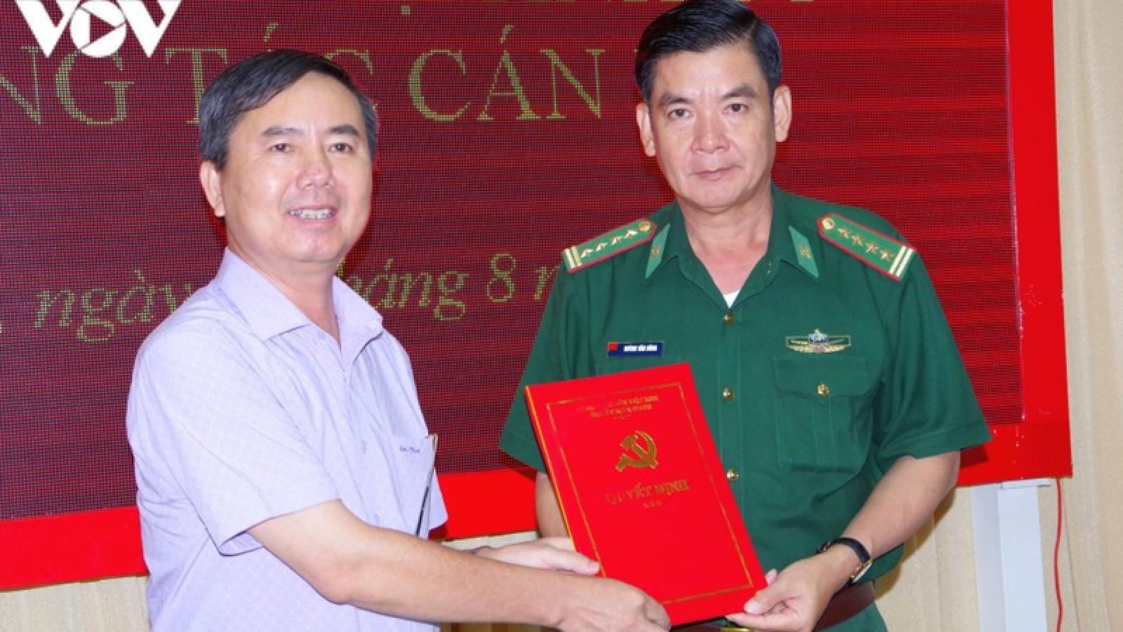 Kiên Giang trao quyết định bổ sung Bí thư Đảng ủy Bộ đội biên phòng