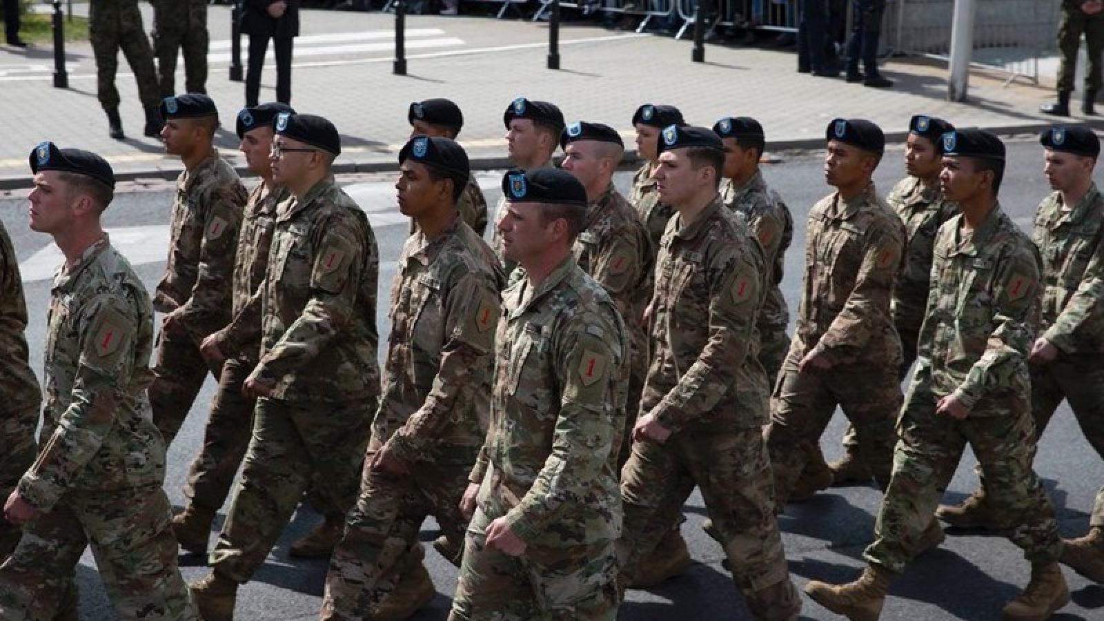 Mỹ sẽ triển khai thêm 1.000 binh sĩ đến Ba Lan