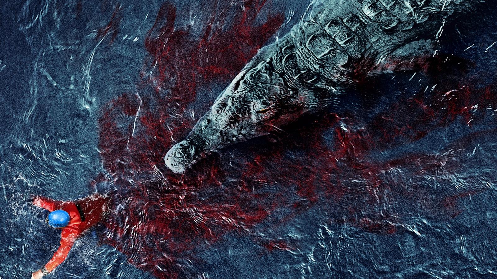Những mỹ nhân nổi tiếng từng làm mồi cho cá sấu trên phim