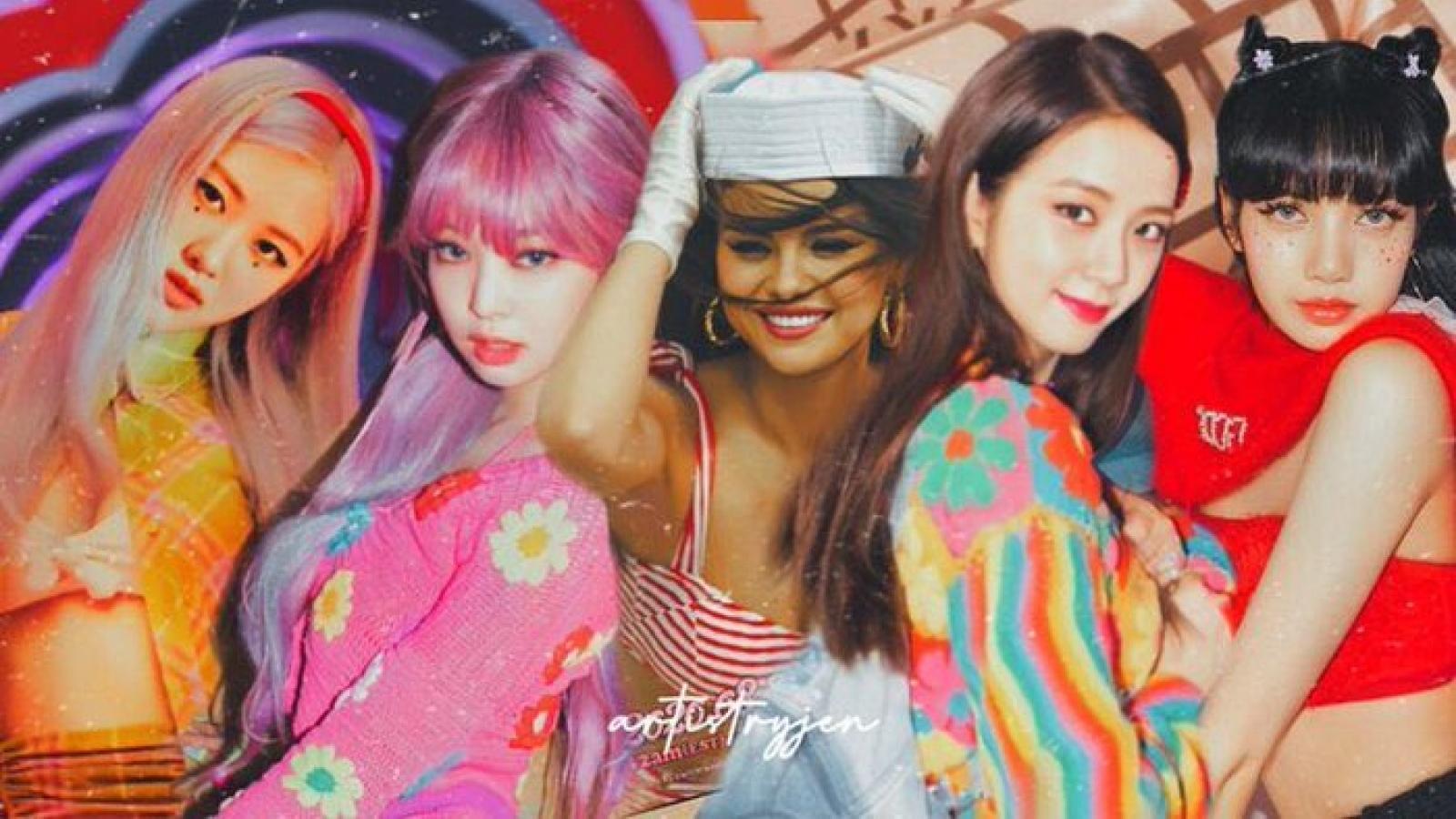 """BLACKPINK, Selena Gomez nóng bỏng khuấy động mùa hè với MV """"Ice Cream"""""""