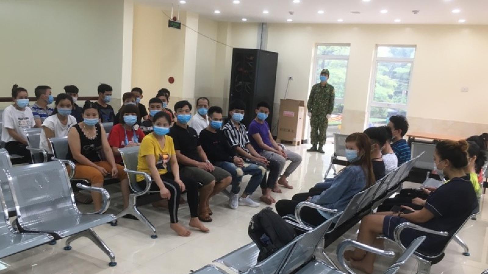 27 người nhập cảnh trái phép trong đêm tại Lạng Sơn