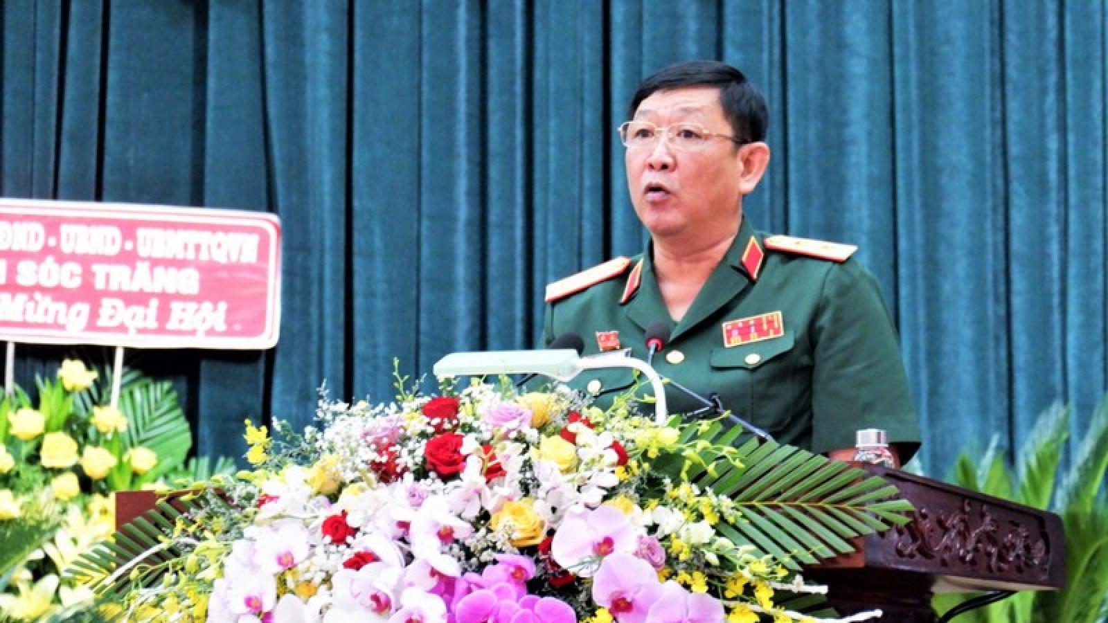 Trung tướng Huỳnh Chiến Thắng giữ chức Bí thư Đảng ủy Quân khu 9