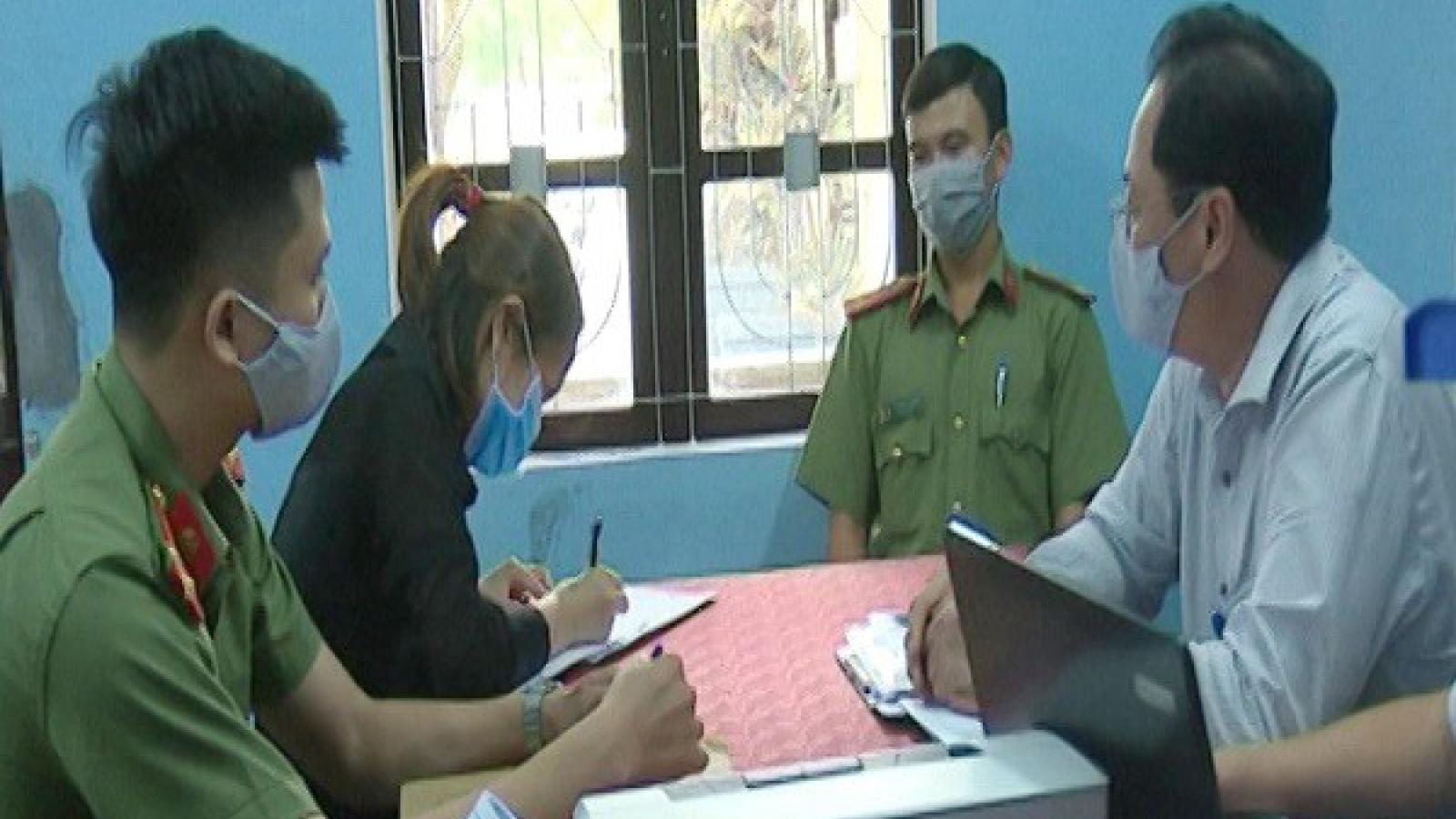 Tung tin sai về Covid-19, cô gái tại Huế bị phạt 5 triệu đồng