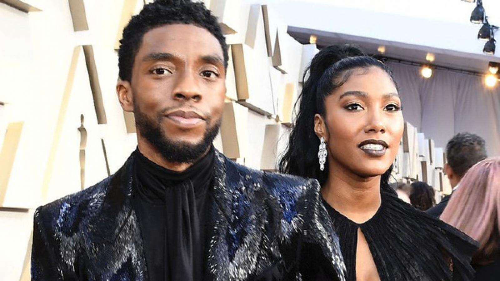 """""""Báo đen"""" Chadwick Boseman bí mật kết hôn trước khi qua đời"""