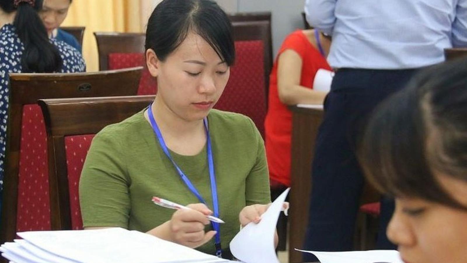 4 bài thi bất thường: Bộ Giáo dục và Đào tạo yêu cầu làm đúng quy chế