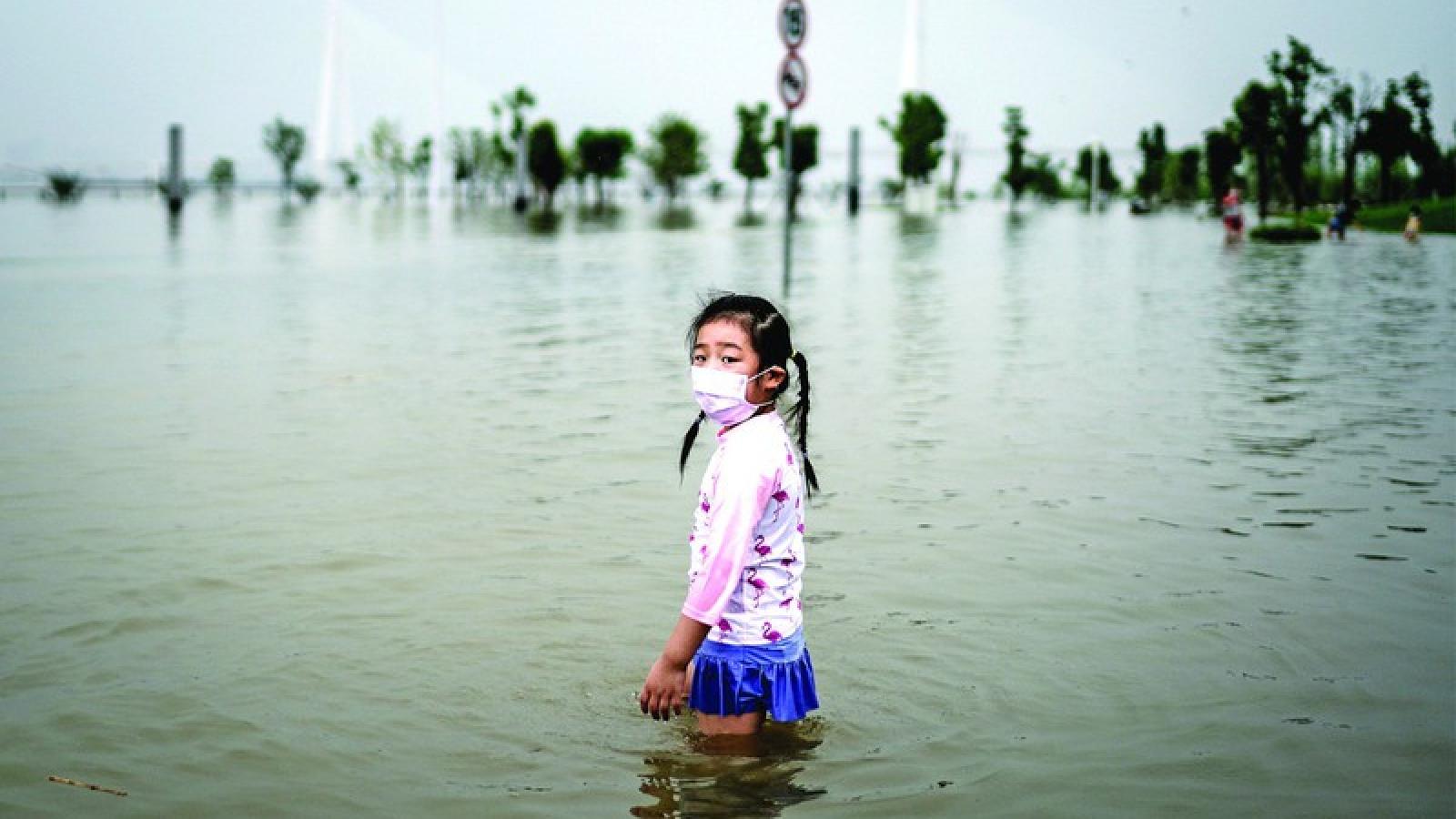 Miền Bắc Trung Quốc sẽ có mưa lớn do ảnh hưởng của bão Mekkhala
