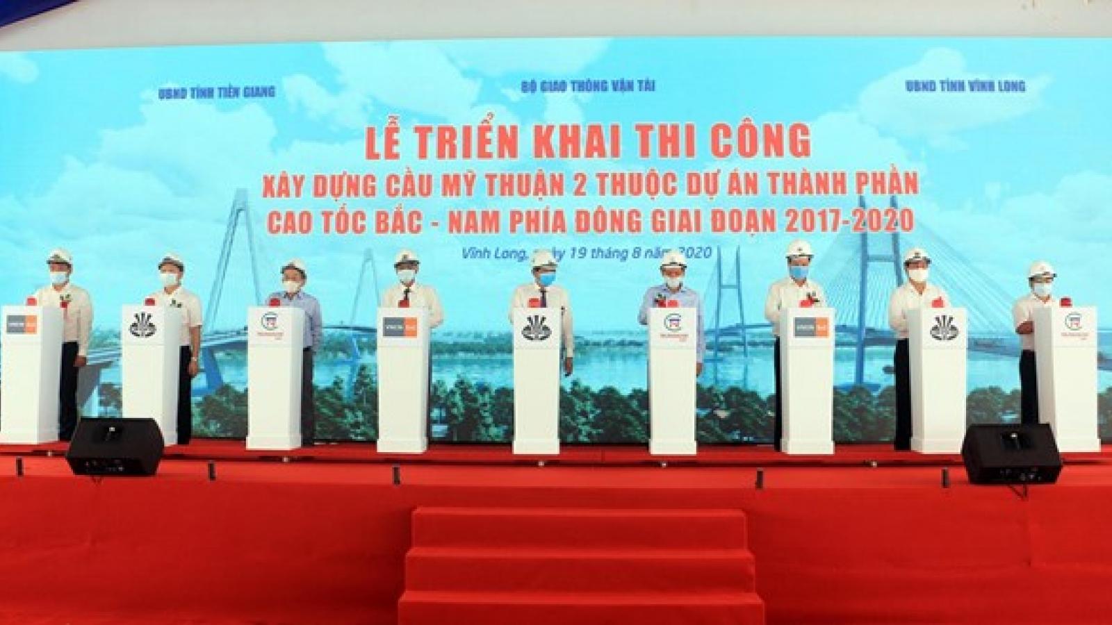 Work starts on over-US$215-million bridge in Mekong Delta
