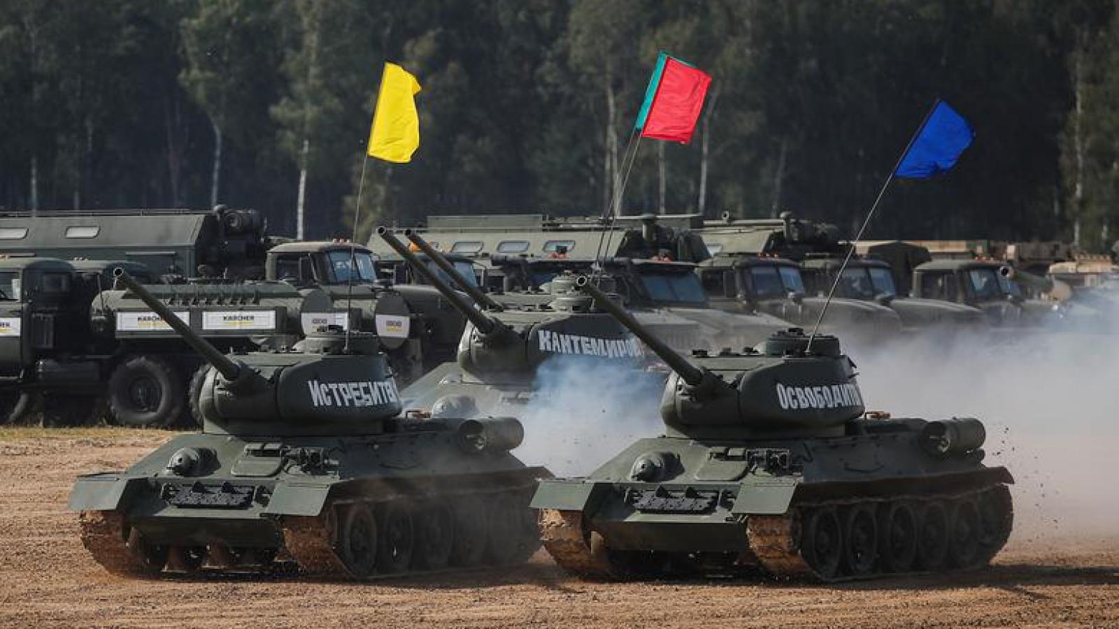 Những hình ảnh ấn tượng tại triển lãm quân sự quốc tế Army 2020