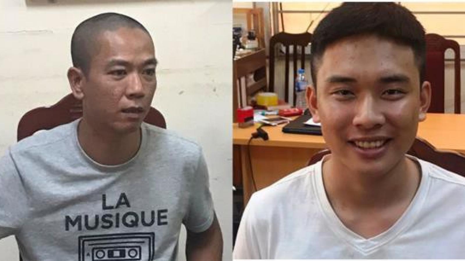 Khởi tố hai kẻ nổ súng cướp Ngân hàng BIDV ở Hà Nội