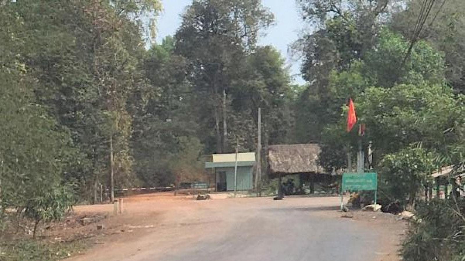 Tây Ninh đề xuất lắp camera dọc cửa khẩu biên giới Campuchia