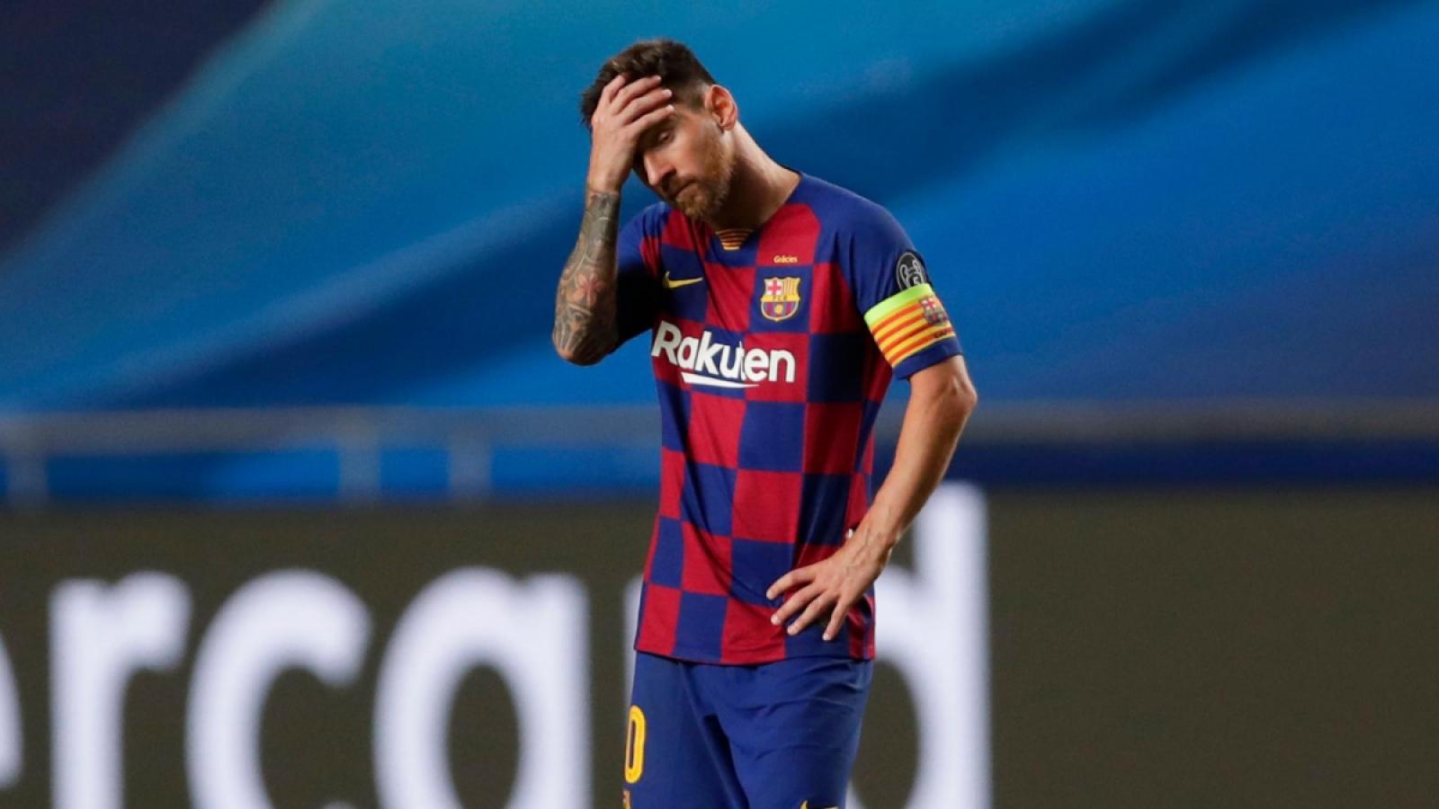 Đã đến lúc Lionel Messi nên rời khỏi Barca?