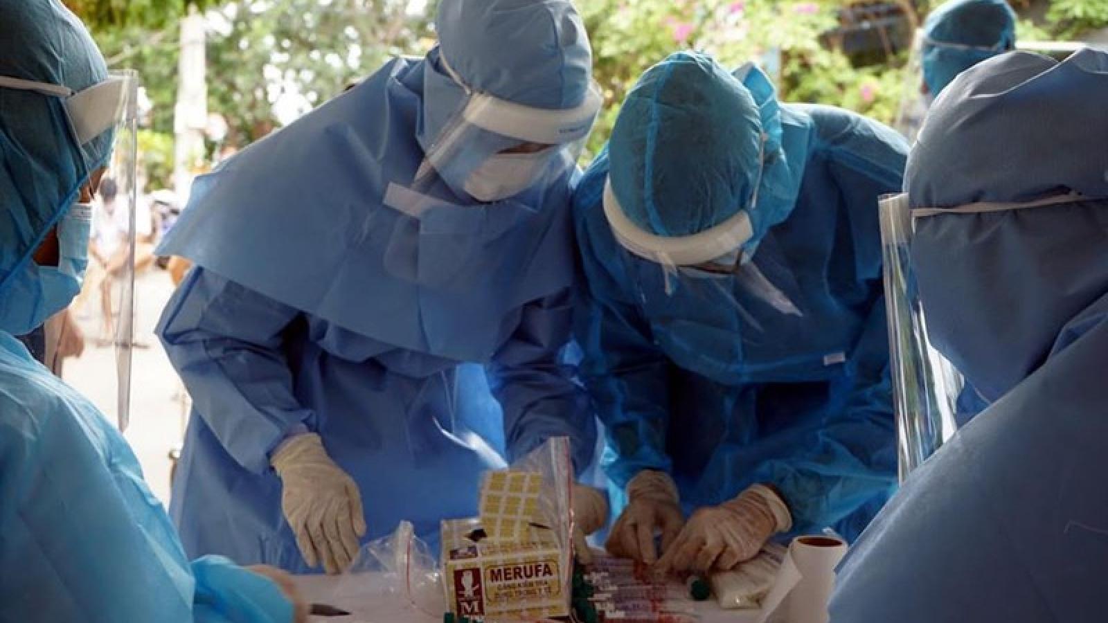 Thêm 14 ca mới, số ca mắc Covid-19 tại Việt Nam vượt ngưỡng 1.000