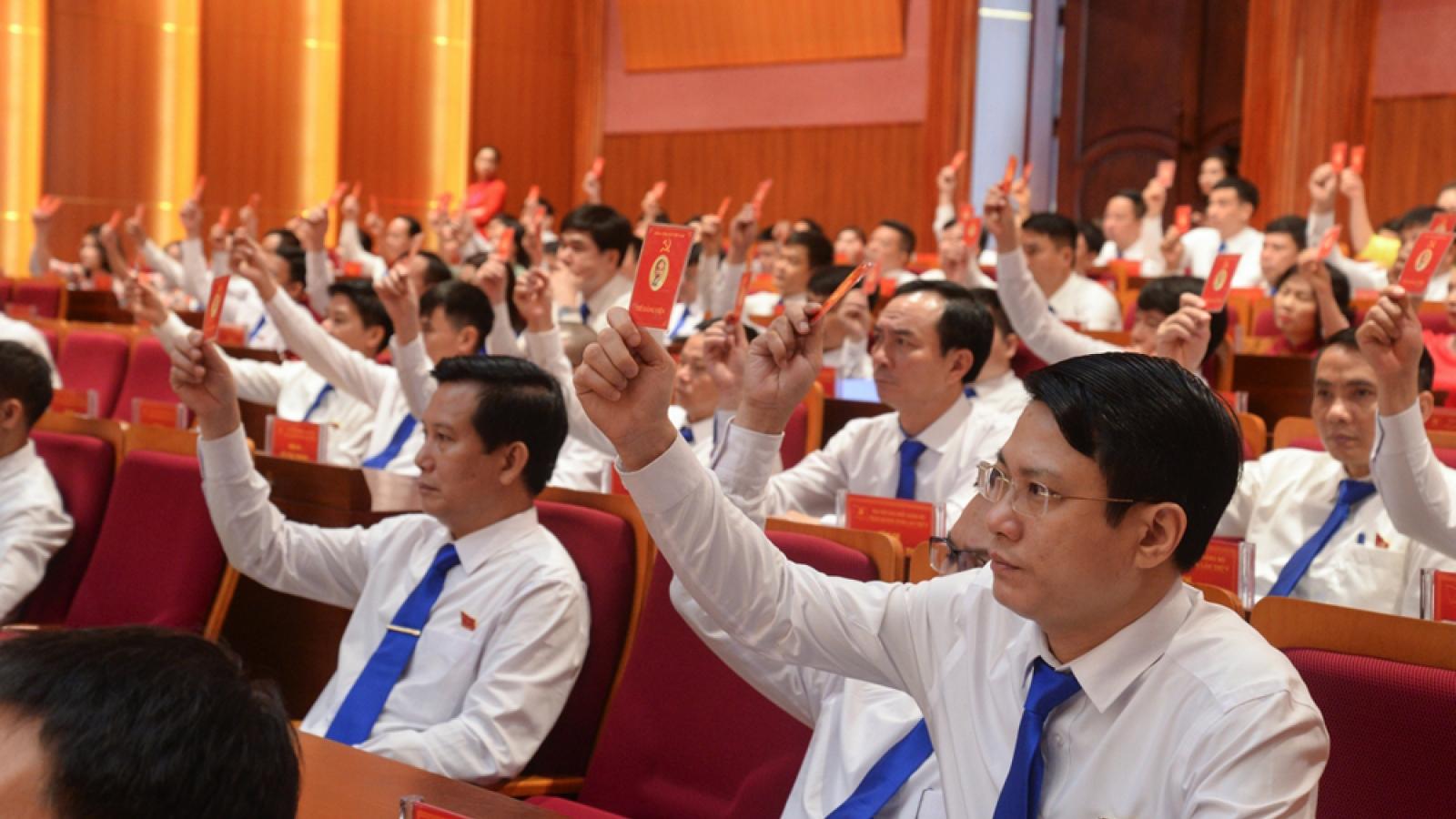 """Quảng Ninh: ĐH Đảng cấp trên cơ sở """"cán đích"""" sớm hơn 1 tháng so với quy định"""