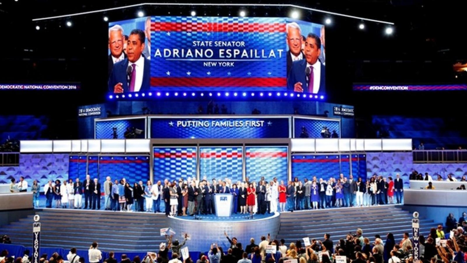18,7 triệu người theo dõi đêm đầu tiên Đại hội đảng Dân chủ Mỹ