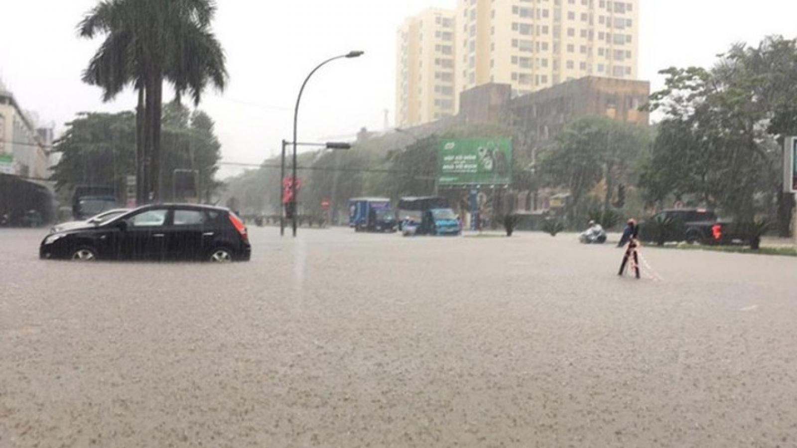 Hoàn lưu của bão tiếp tục gây mưa lớn trong những ngày tới ở Bắc Bộ