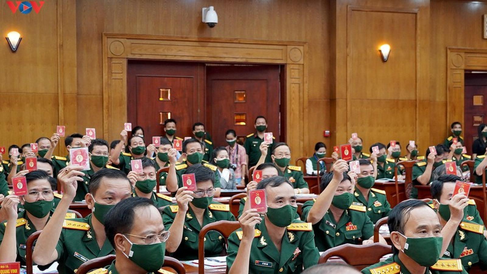 Ông Nguyễn Thiện Nhân dự Đại hội Đảng bộ Quân khu 7