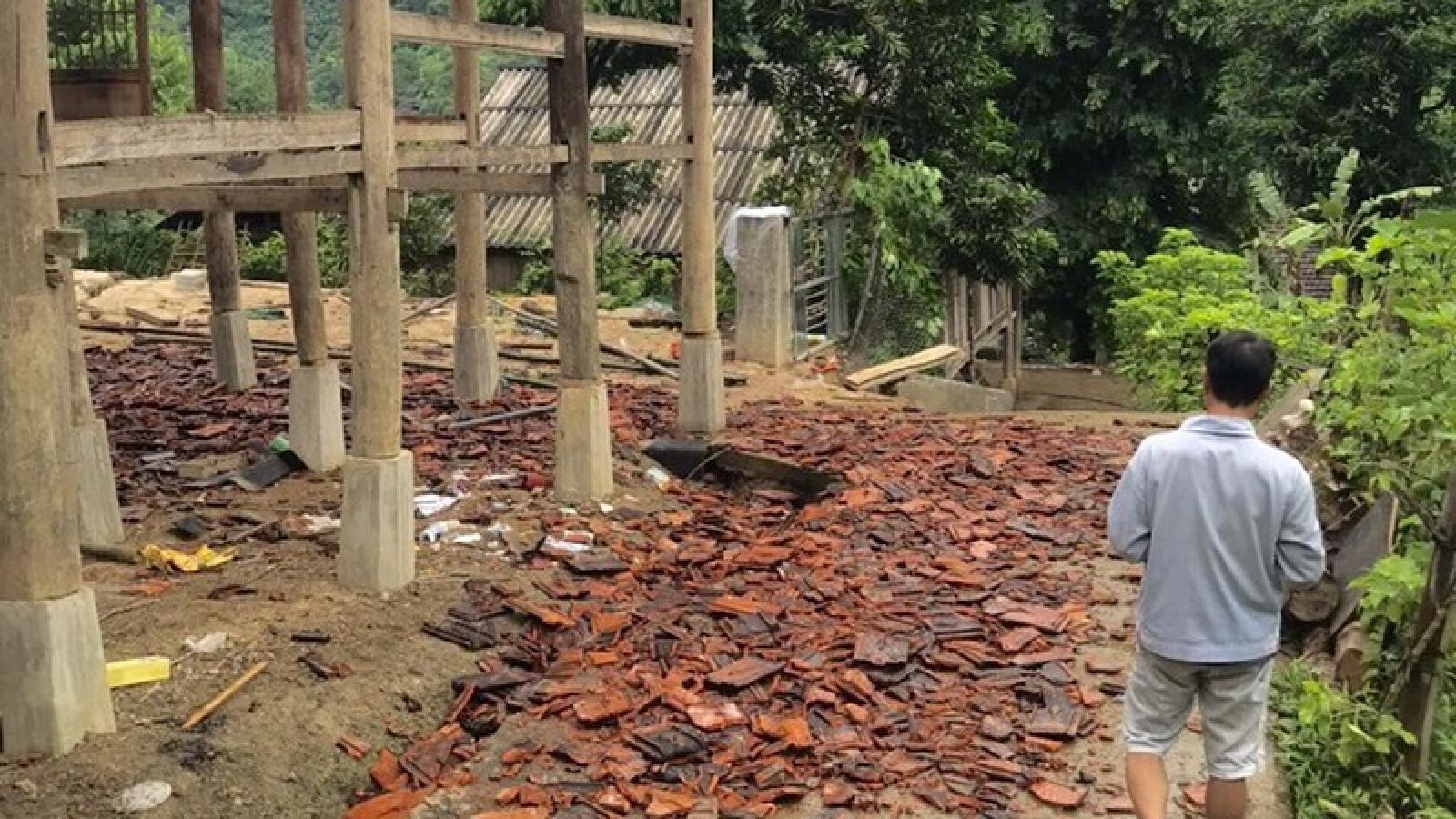 Sơn La di dời khẩn cấp 12 hộ dân ở huyện Mường La