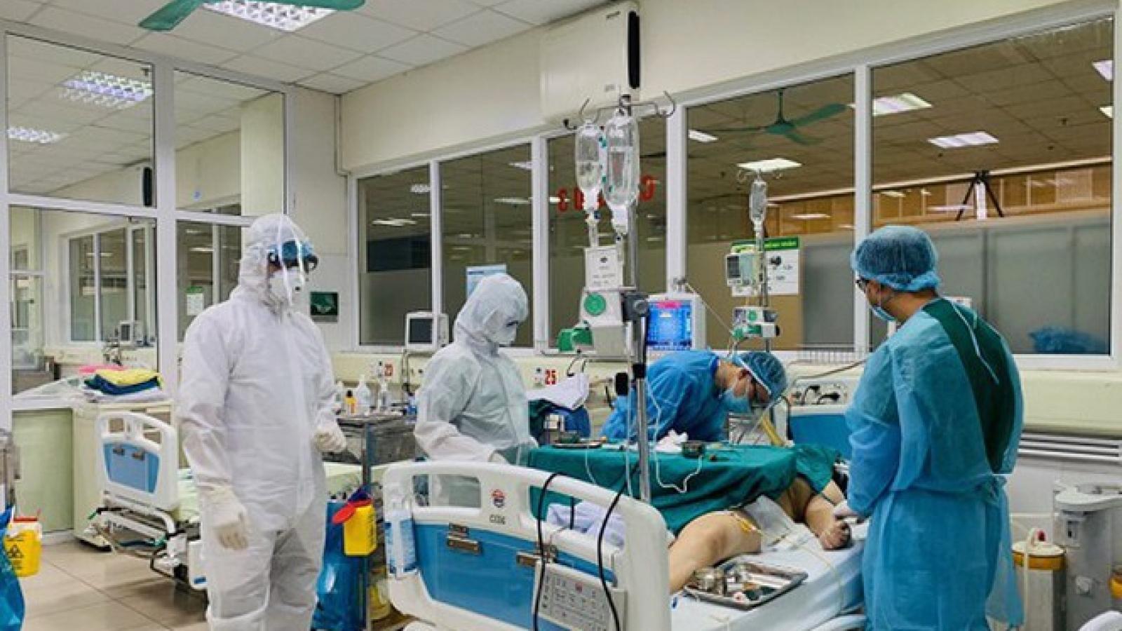 Việt Nam có thêm 1.737 bệnh nhân COVID-19 khỏi bệnh, tiêm1.990.538 liều vaccine