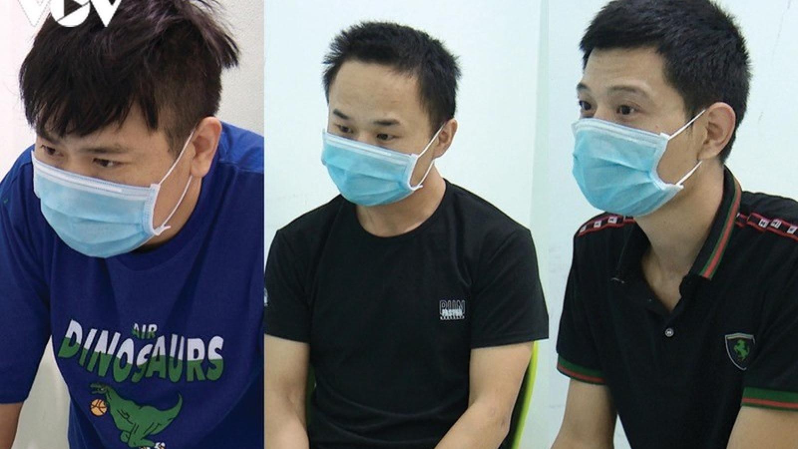 3 người Trung Quốc nhập cảnh trái phép vào Bạc Liêu để du lịch