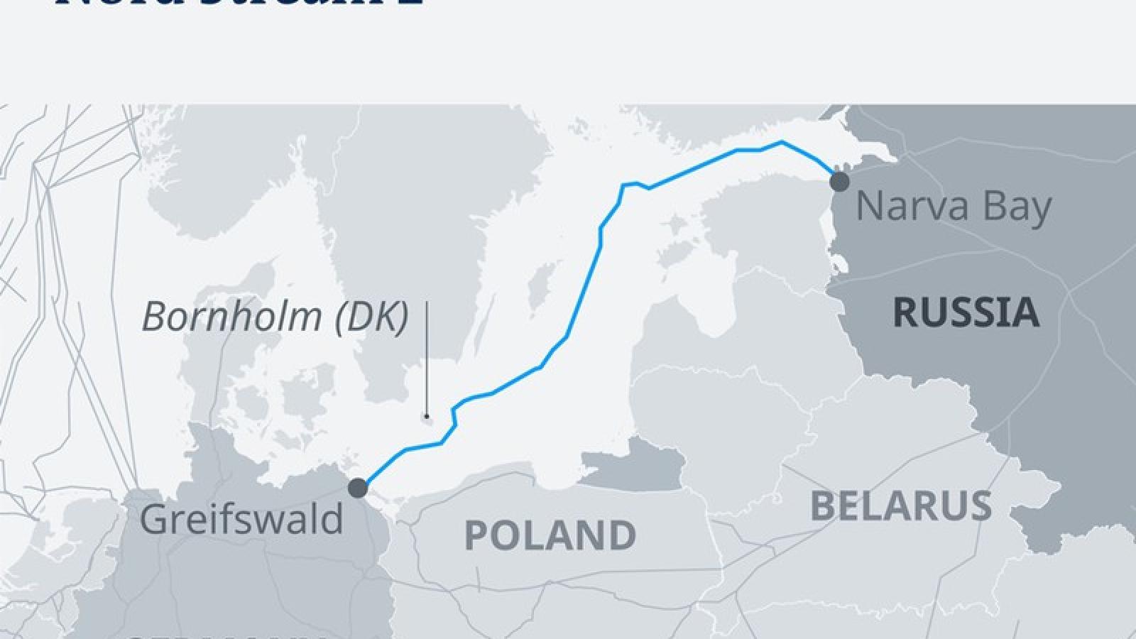 Đức, Nga phản đối Mỹ đe dọa trừng phạt dự án Dòng chảy phương Bắc 2