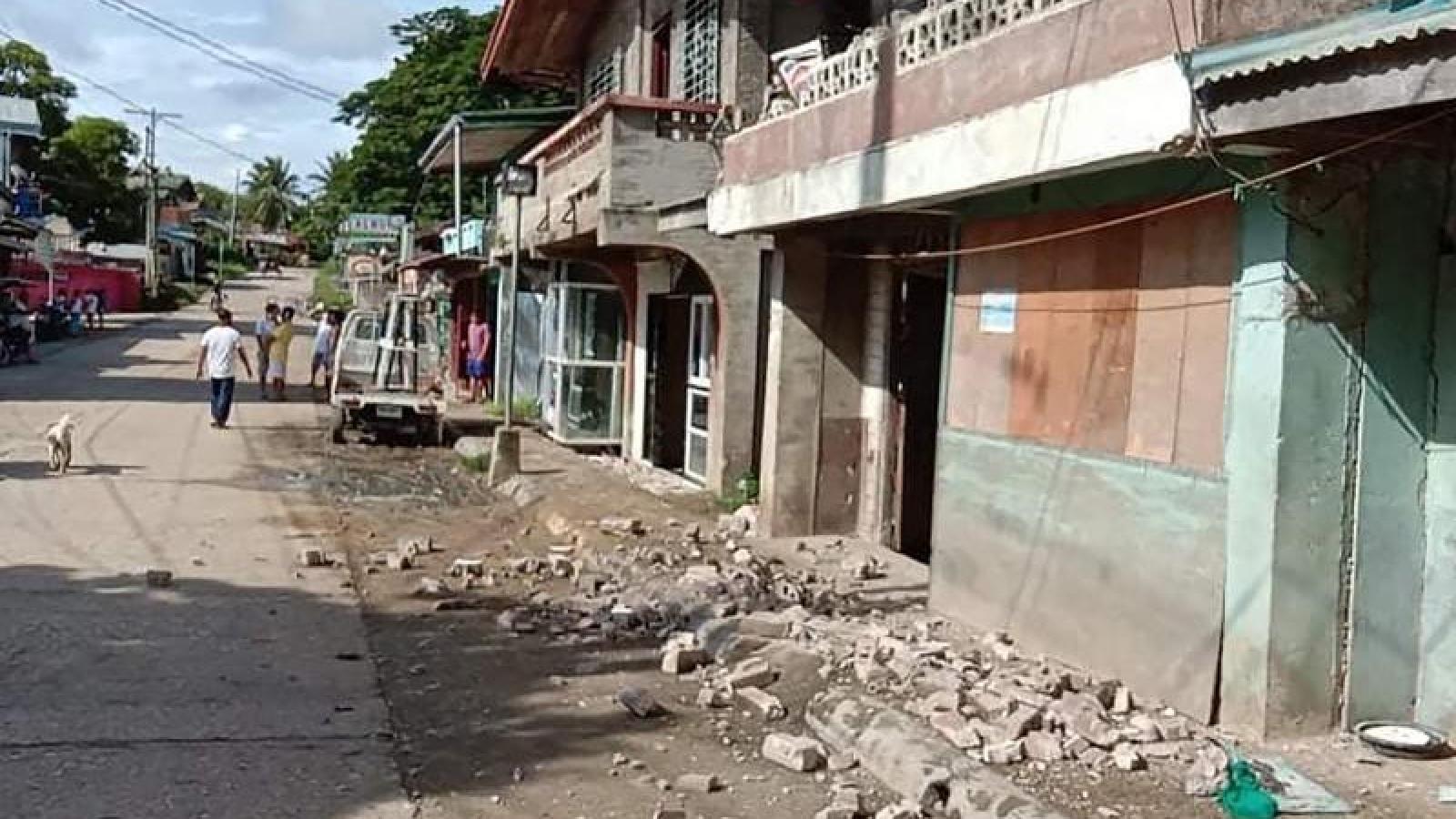 Động đất 6,6 độ ở Philippines làm 41 người thương vong