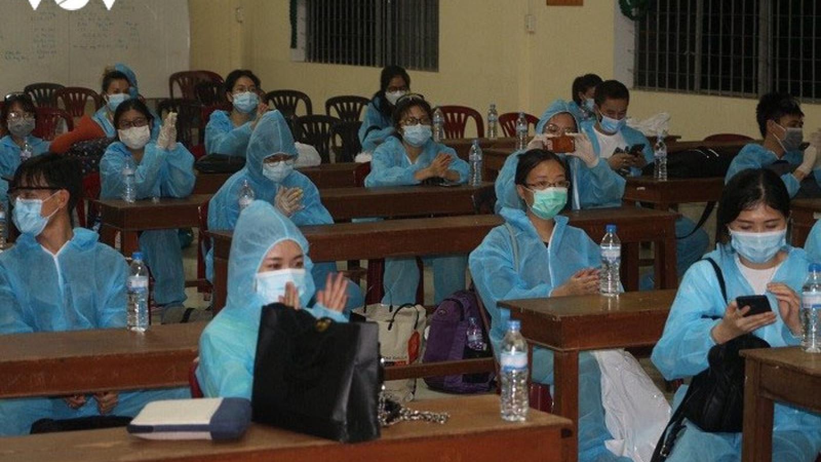 131 công dân cách ly tại Đồng Tháp âm tính với SARS-CoV-2