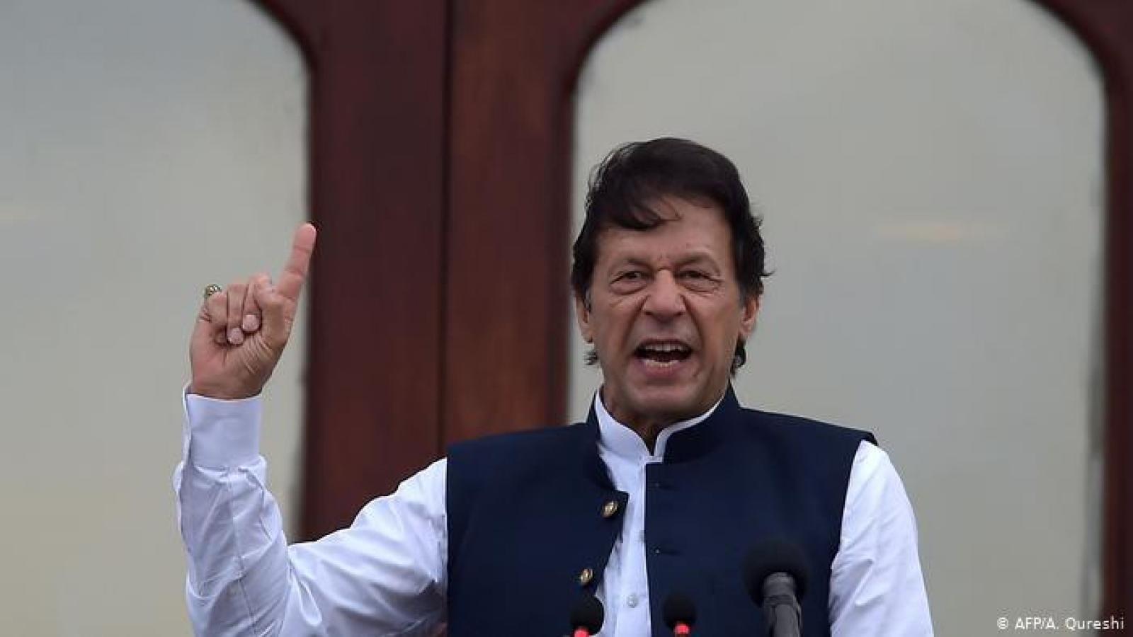 Ấn Độ phản đối Pakistan công bố bản đồ hành chính mới