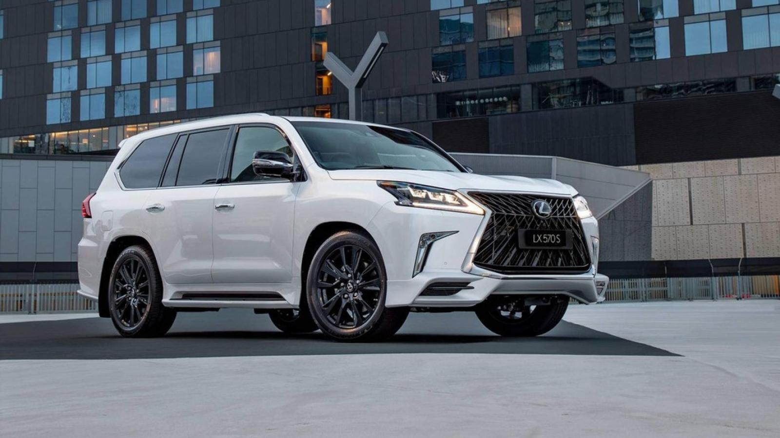 Khám phá những tính năng mới trên Lexus LX 570 2021