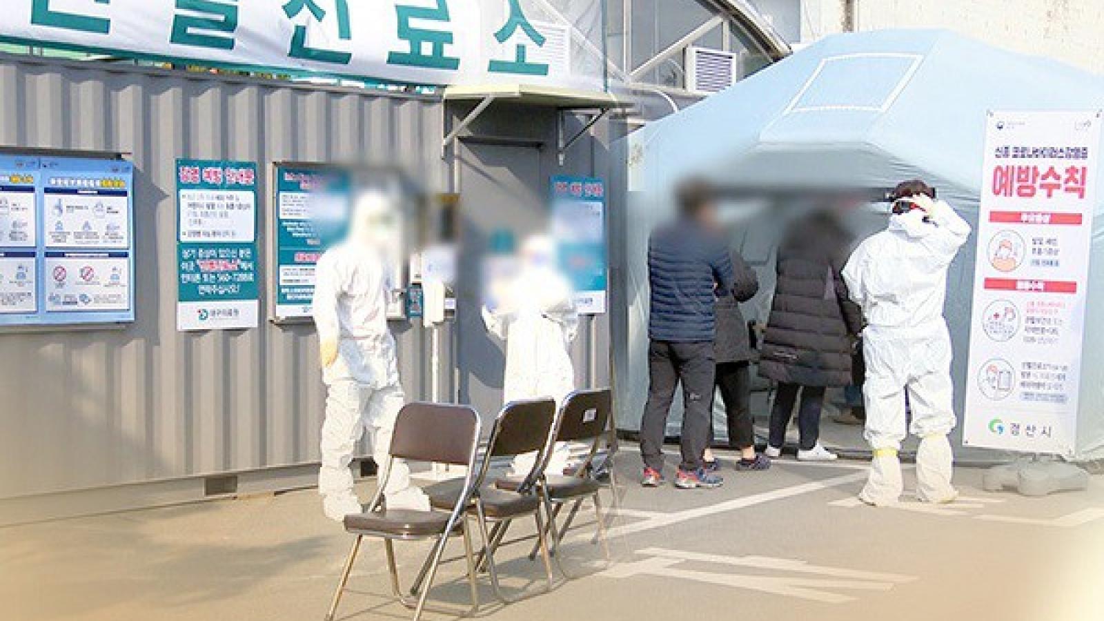 Hàn Quốc ghi nhận số ca lây nhiễm Covid-19 theo ngày cao nhất sau 5 tháng