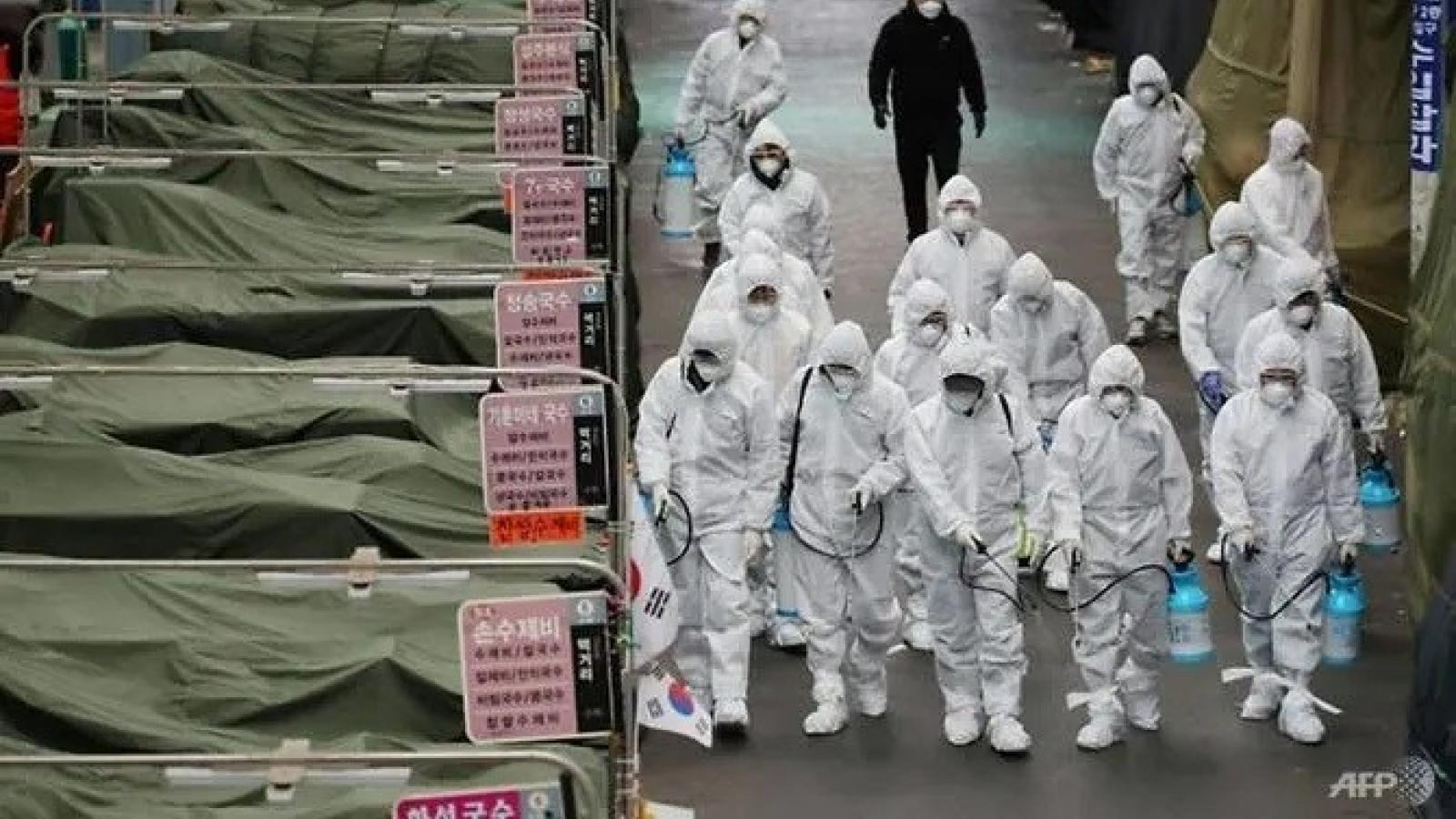 Nguy cơ bùng phát mạnh làn sóng lây nhiễm Covid-19 tại Hàn Quốc