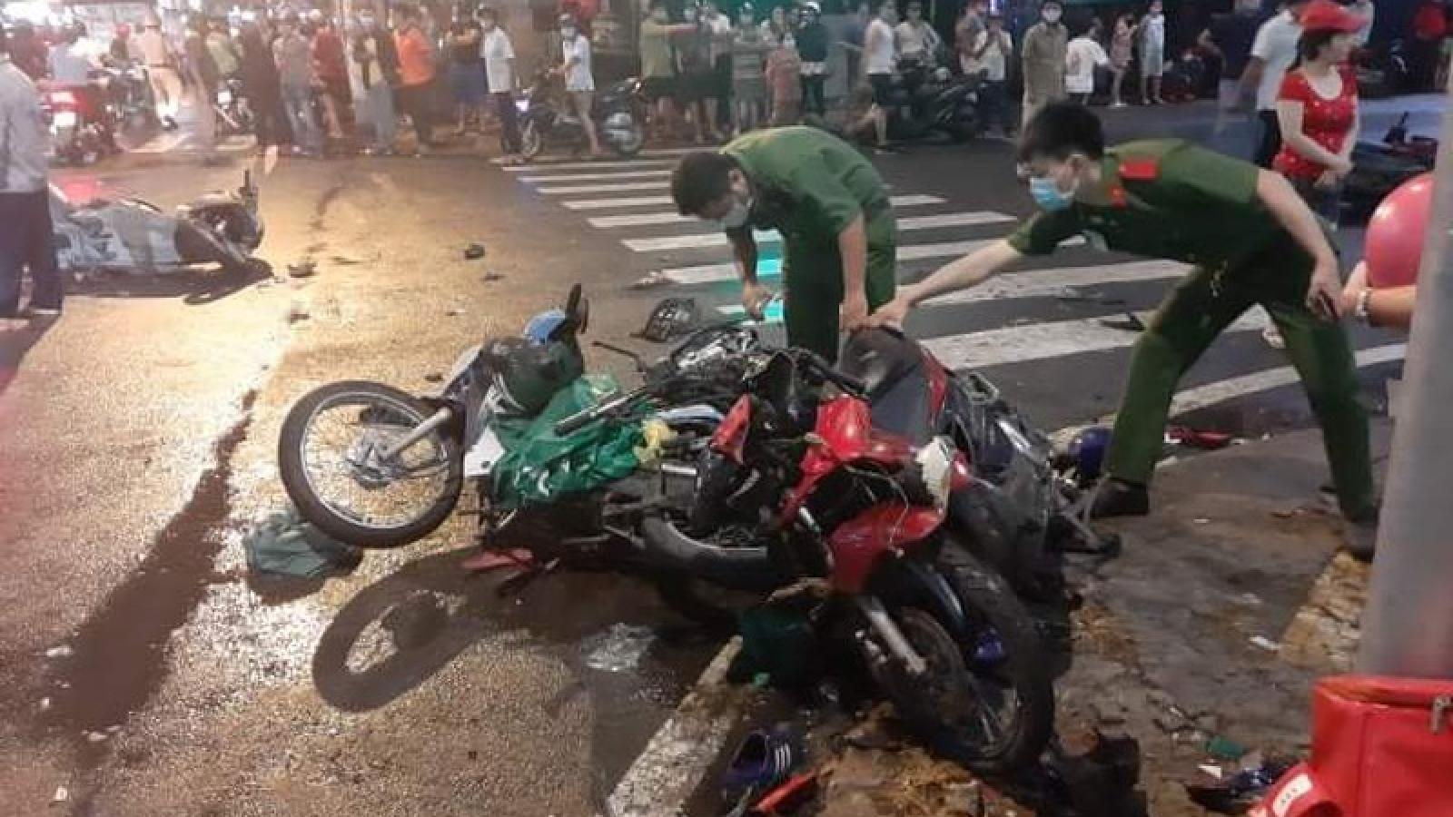 Nữ tài xế gây tai nạn liên hoàn ở TPHCM khai do đạp nhầm chân ga