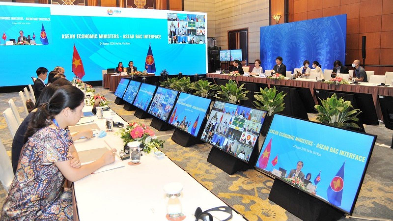 Hội nghị tham vấn trực tuyến của Bộ trưởng Kinh tế ASEAN