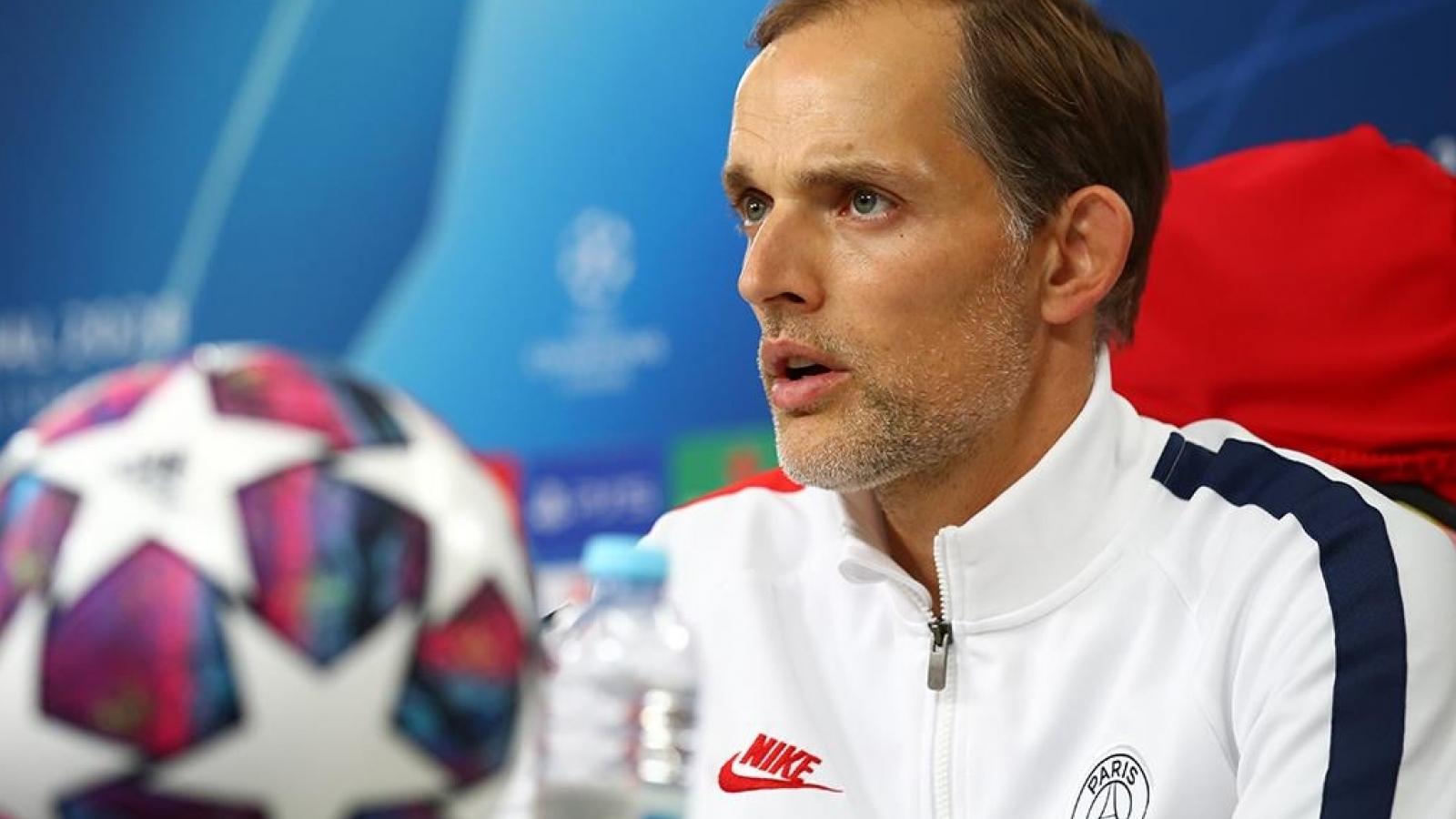 HLV Thomas Tuchel tự tin giúp PSG quật ngã Bayern Munich