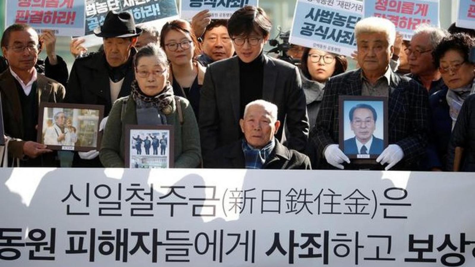Nhật Bản sẽ đáp trả vụ kiện của Hàn Quốc về lao động thời chiến