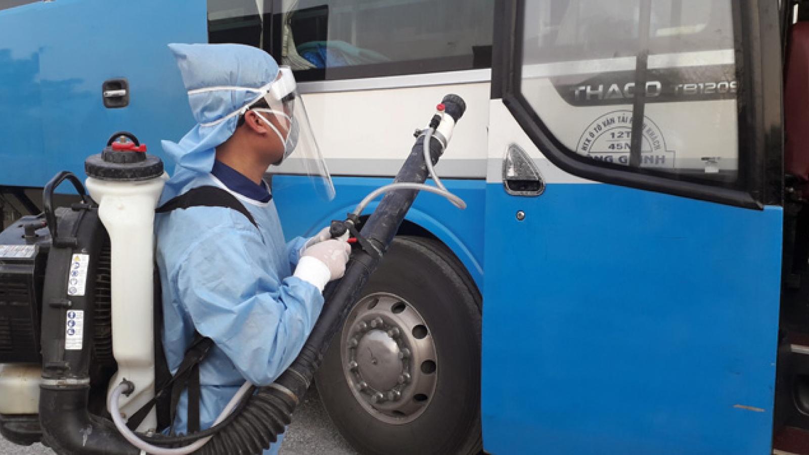Lịch trình di chuyển của xe Kim Chi chở 2 bệnh nhân Covid-19 và hành khách